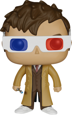 Doctor Who - Tenth Doctor 3D Glasses Pop! Vinyl Figure