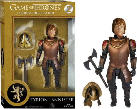 "Game of Thrones - Tyrion Lannister Battle Armor 5"" Legacy Action Figure (Series 2)"