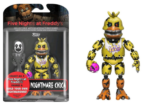 "Five Nights at Freddy's - Nightmare Chica 5"" Action Figure"