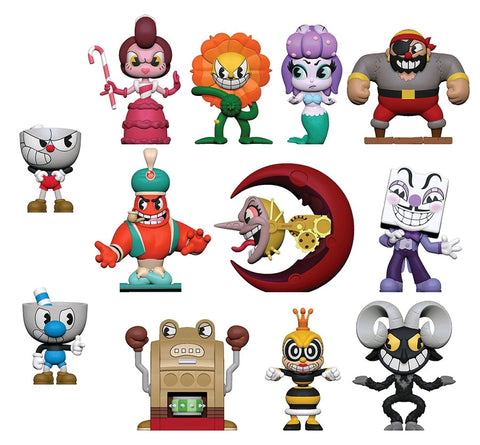 Cuphead - Mystery Mini Blind Box Case of 12 Figures - Pre-Order