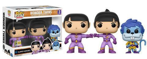 SDCC17 Exclusive - DC Comics: Wonder Twins Zan, Jayna & Gleek Pop! Vinyl Figure 3-Pack