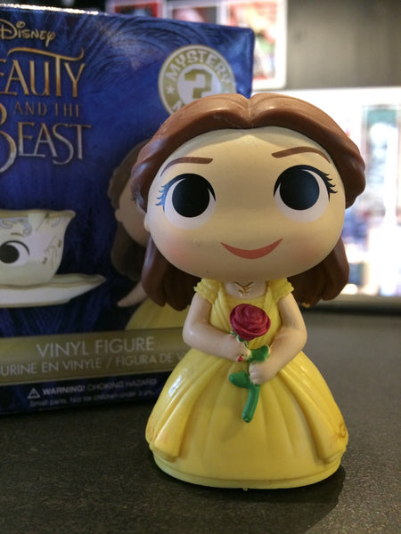 Disney's Beauty and The Beast - Loose Mystery Mini Figure: Belle with Rose (1:12)