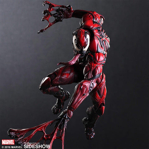 "Spider-Man - Red Venom (Carnage) Play Arts Kai 10"" Action Figure"