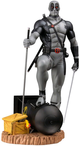 Deadpool - X-Force Deadpool on Atom Bomb Variant 1:6 Scale Statue