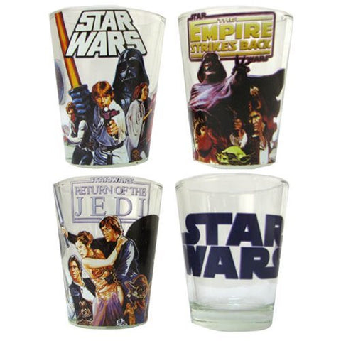 Star Wars - The Original Trilogy Shot Glass 4-Pack