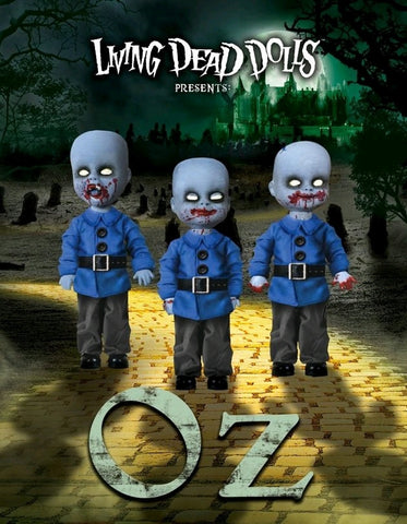 Living Dead Dolls - Oz Mini Munchkins 3-Pack