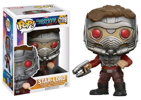 Guardians of the Galaxy: Vol 2 - Star-Lord with Mask Pop! Vinyl Figure