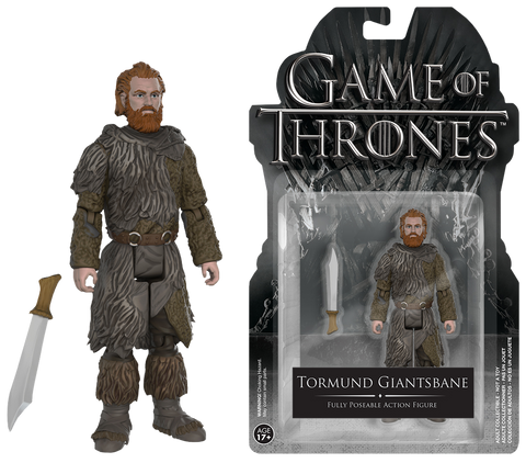 "Game of Thrones - Tormund Giantsbane 4"" Action Figure"