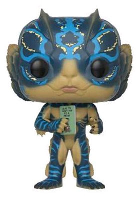 The Shape of Water - Amphibian Man with Card Pop! Vinyl Figure - Pre-Order