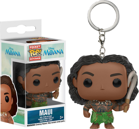 Moana - Maui Pocket Pop! Vinyl Keychain