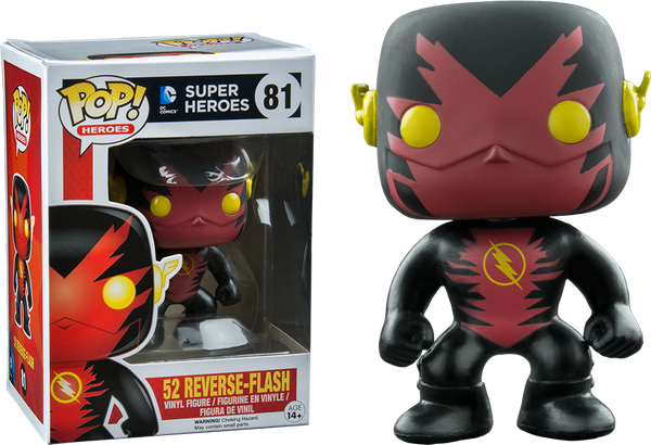 The Flash - Reverse Flash New 52 Fugitive Toys US Exclusive Pop! Vinyl Figure