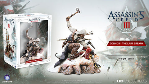 Assassin's Creed 3 - Connor The Last Breath 12 Inch Diorama Statue