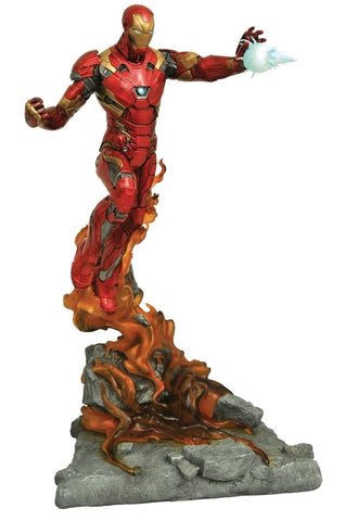 Marvel Milestones - Iron Man Civil War Movie Statue - Pre-Order