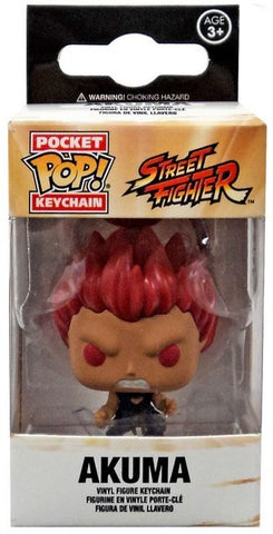 Street Fighter - Akuma Pocket Pop! Keychain