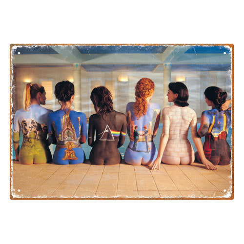 Pink Floyd - Back Art Tin Sign