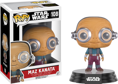 Star Wars Episode VII: The Force Awakens - Maz Kanata No Glasses Pop! Vinyl Figure