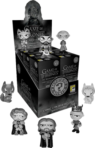 Game of Thrones - In Memoriam SDCC 2014 Exclusive Mystery Mini Blind Box Case of 12 Figures