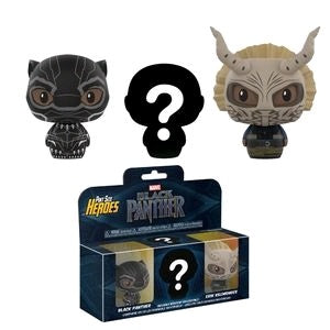 Black Panther - Pint Size Heroes Mystery Vinyl Figure 3-Pack