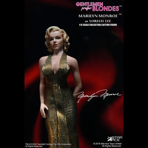 "Marilyn Monroe - Gold Dress 12"" 1:6 Scale Action Figure - Pre-Order"