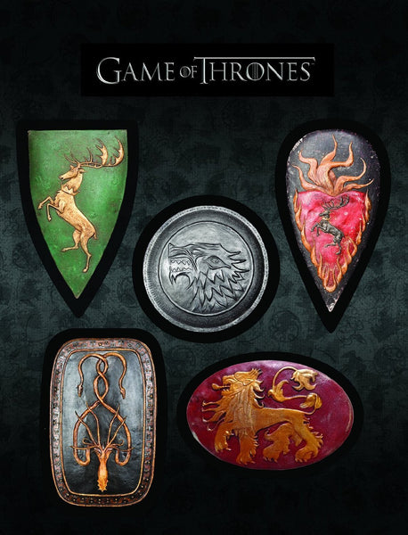 Game of Thrones - Shield Magnet Set
