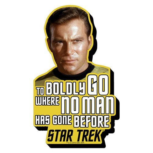 Star Trek - Kirk Quote Funky Chunky Magnet