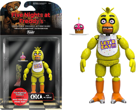 "Five Nights at Freddy's - Chica 5"" Action Figure"