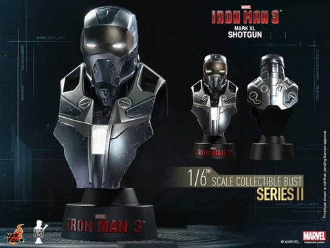 Iron Man 3 - Mark XL Shotgun 1:6 Scale Bust