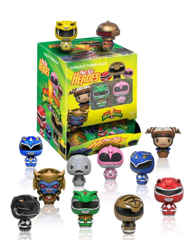 Power Rangers - Pint Size Heroes Mystery Mini Blind Bags Case of 24 Figures