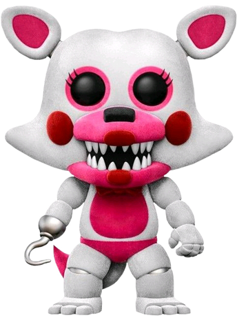 Five Nights at Freddy's: Sister Location - Funtime Foxy Flocked US Exclusive Pop! Vinyl Figure - Pre-Order