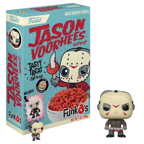 Friday the 13th - FunkO's Cereal with Jason Voorhees Pocket Pop! Vinyl Figure  - Pre-Order