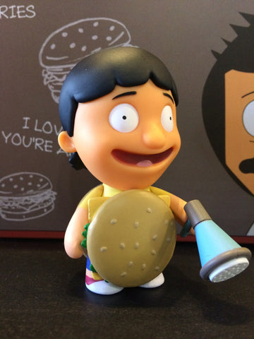 Bob's Burgers - Loose Mystery Mini Figure: Gene in Burger Suit (1:20)