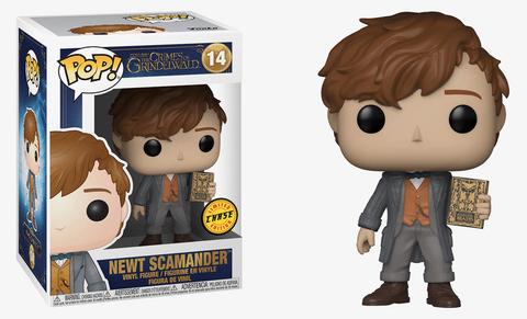 Fantastic Beasts 2: The Crimes of Grindelwald - Newt Scamander Pop! Vinyl Figure: Case of 6 with a Chase - Pre-Order