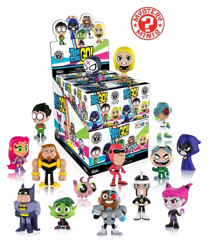 Teen Titans Go! - Case of 12 TRU US Exclusive Mystery Mini Blind Boxes - Pre-Order