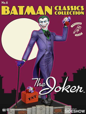 Batman - Joker Classic Maquette Statue by Tweeterhead