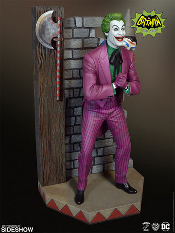 Batman - 1966 Joker Maquette Statue by Tweeterhead