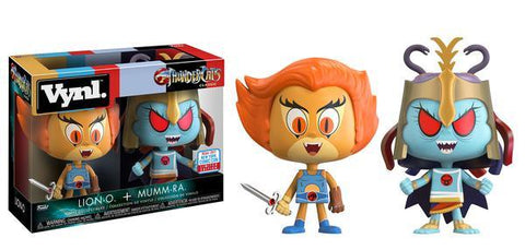 NYCC 2017 Exclusive - ThunderCats: Lion-O & Mumm-Ra 2-Pack VYNL. Vinyl Figures - Pre-Order