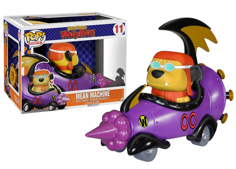 Hanna-Barbera - Mean Machine Pop! Ride with Muttley Figure