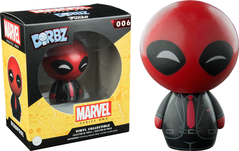 Deadpool - Black Suit Deadpool Dorbz Vinyl Figure