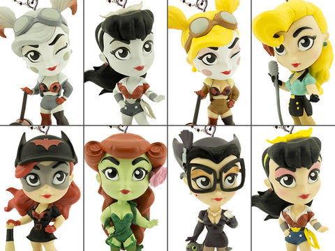 DC Comics - Lil Bombshells Backpack Clips: Case of 18 Blind Bags - Pre-Order