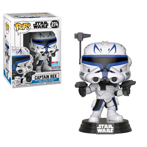 Star Wars: Clone Wars - Captain Rex NYCC 2018 Exclusive Pop! Vinyl Figure