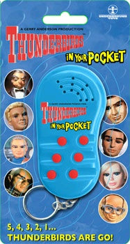 Thunderbirds - In Your Pocket Talking Keychain