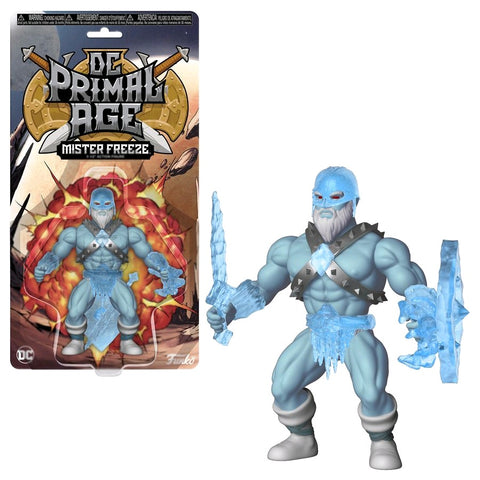 DC Primal Age - Mr Freeze Savage World Action Figure - Pre-Order