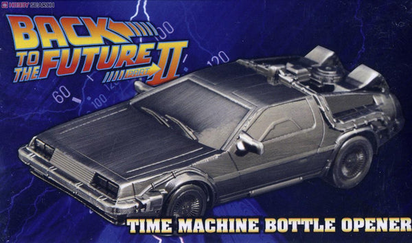 Back to the Future - Time Machine Metal Bottle Opener