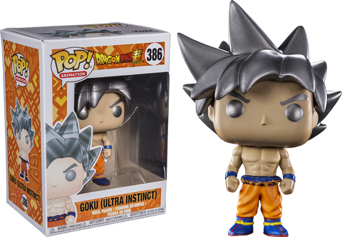 Dragon Ball - 6 Pack Bundle of Pop! Vinyl Figures including NYCC Blue Chrome Vegeta - Pre-Order