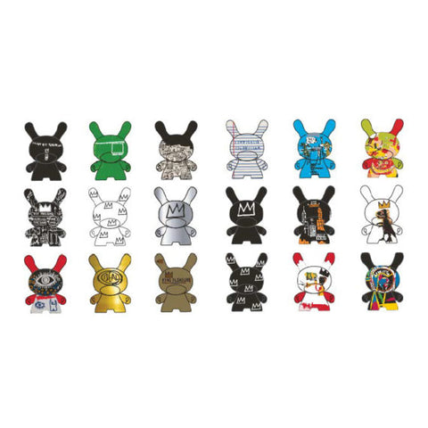 Dunny by Jean-Michel Basquiat - Dunny Mystery Mini Figure Series: Case of 24 Blind Boxes - Pre-Order