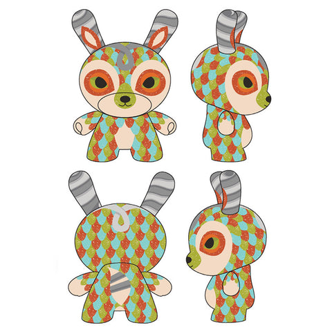 Dunny - The Curly Horned Dunnylope Vinyl Figure - Pre-Order