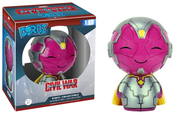 Captain America: Civil War - Vision Dorbz Vinyl Figure