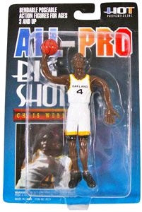 NBA - Chris Webber Bendable Figure