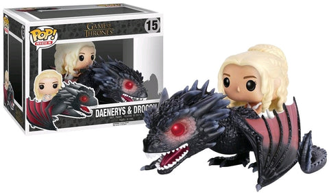 Game of Thrones - Drogon & Danaerys Pop! Vinyl Figure Ride
