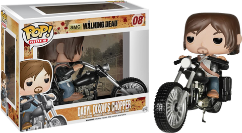 The Walking Dead - Daryl Dixon on Chopper Bike Pop! Vinyl Ride